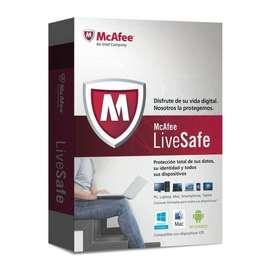 antivirus McAfee O TOTAL PROTECCION