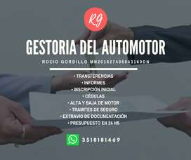 GESTORIA DEL AUTOMOTOR ROCIO GORDILLO