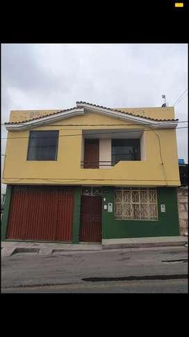 SE VENDE CASA UBICADA EN BUEN ZONA DE SELVA ALEGRE FRENTE AL PARQUE