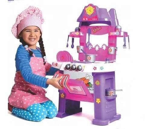 Cocina Infantil Niñas Musica, Sonido Y Luces
