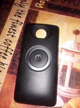 Vendo Moto Mod parlante original de Motorola poco uso