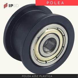 Polea 625Z plastica para impresora 3D