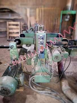 ESCUADRADORA DOBLE ITALIANA Ø máquina carpintería fábrica mueble circu