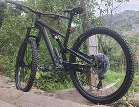 Bicicleta de alta gama