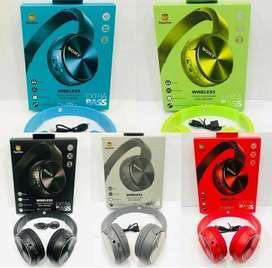Audífonos Diadema Sony Extra Bass Bluetooth Micro Sd Radio color negro Inalámbrica - manos libres - llamadas telefonicas