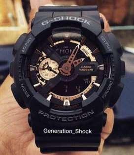 Reloj Casio G-shock Dorado Ga110rg 1a 100% Original Nuevo Importado