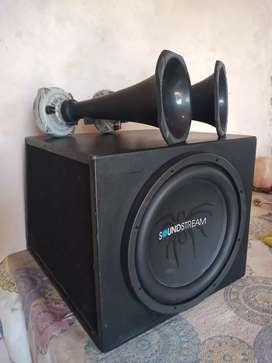 Vendo o permuto Equipo de sonido para auto