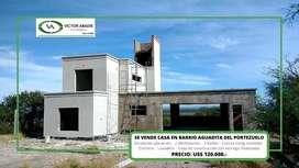 Se vende hermosa casa en barrio Aguadita del Portezuelo