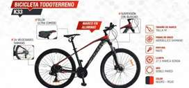 Bicicleta Todoterreno Sueh K33 Nueva