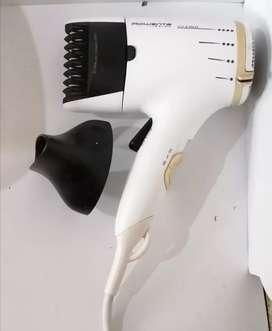 Secador de pelo Rowenta Lissima, alisa y seca en cabello. En perfecto estado