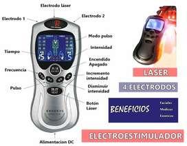 Gimnasia Pasiva Digital 4 Electrodos Dos Lipólisis Láser