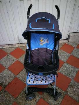 Coche Para Bebé Priori Azul Usado