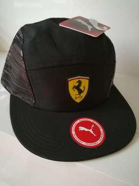 Gorras Ferrari Puma planas, Nike Ecko Vans, originales, varios modelos, playa