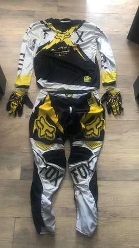 Uniforme motocross marca fox original