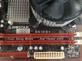 Tarjeta Biostar g41d3+