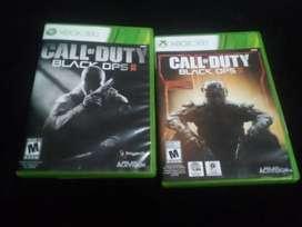 Vendo juegos (Black OPS 2 y Black OPS 3) Xbox 360