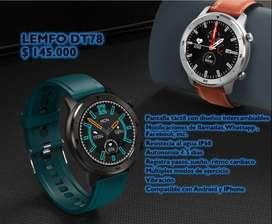 Smartwatch LEMFO DT78