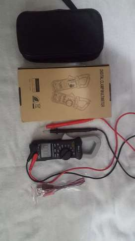 Clamp Meter, Multimetro MusTool X1