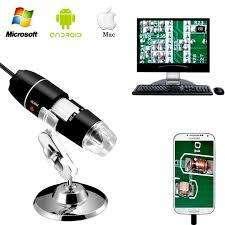 "CAMARA MICROSPOPIO DIGITAL LED USB ""TRINOCULAR"" PARA ELECTRONICA"