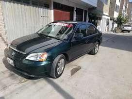 Se vende honda Civic 2001 lx timon original en buen estado