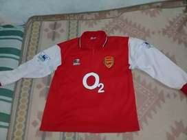Camiseta Arsenal Inglaterra Manga larga talle L