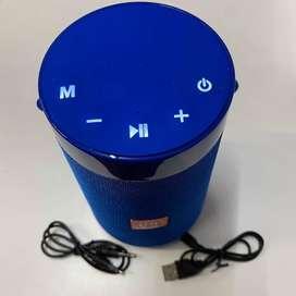 Parlante Portatil Bluetooth Mic Fm Microfono Pontente 5wx2