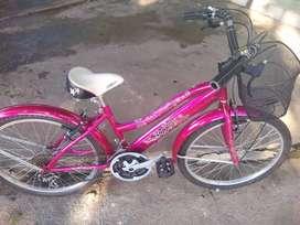 Venta de bicicleta para dama