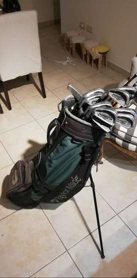 Bolsa Palos de Golf para zurdo completa con Carito