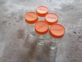 Frasco de vidrio de café 179 xunidad