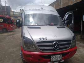 Buseta mercedes Benz Sprinter 515 / 2014