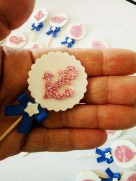 Topper para Cupcake X 25 U