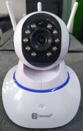 Cámara Robótica 360 Wifi Seguridad para su hogar y Negocio