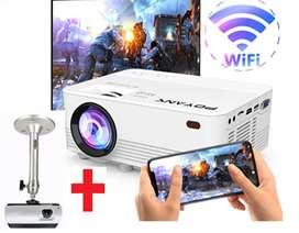 Mini Proyector Video Beam Wifi 3500 Lumens
