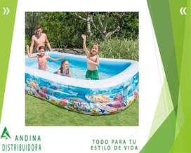 Piscina Infable Para Niños 305*183*56 Cm