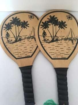 Raquetas Madera