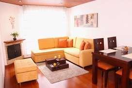 Confortable apartamento amoblado para Arriendo en Santa Barbara 4850248