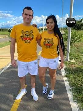 T-shirt basic de pareja