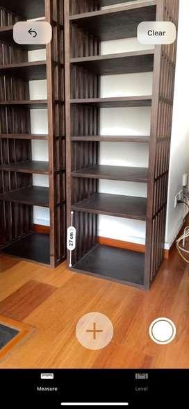 Bibliotecas, 2 modulos (precio individual), marca Zientte