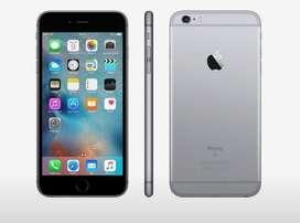 iPhone 6S el glas apenas rayado PERMUTO