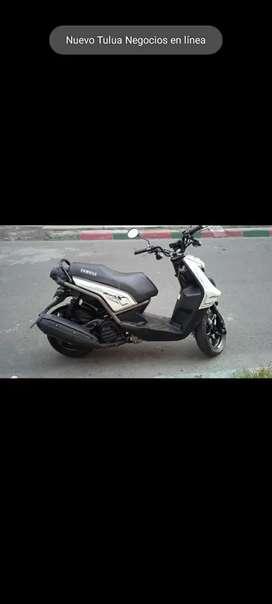 Se vende moto bws 2016