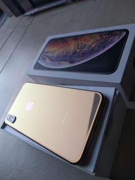 Iphone XS MAX gold inmaculado