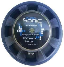 Parlante Audiosonic 15 Pulg 350w Rms 700w Pico!!! Oferta!!