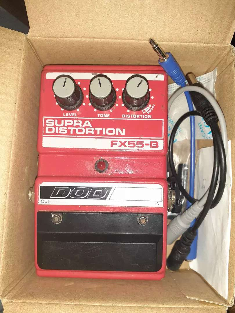 Pedal guitarra eléctrica DOD Supra Distortion 0