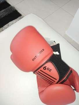 Guantes de boxeo de 6 onzas nuevos