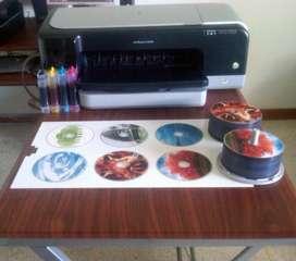 impresora cd/dvd/blue ray 3000 cds diarios 2 cds x 30 seg