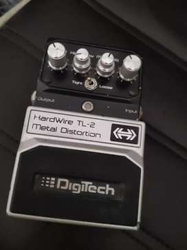 DIGITECH METAL TL 2 HARDWIRE DISTORTION