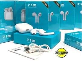 Audífonos Bluetooth Inpods I11 - Auriculares - Manos Libres