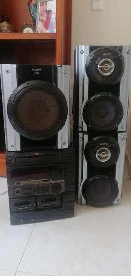 Equipo de sonido Sony (negociable)