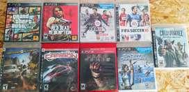 SET de 9 películas/ individual para PS3 ORIGINALES de segunda EN PERFECTO ESTADO