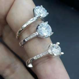 anillos de plata y oro